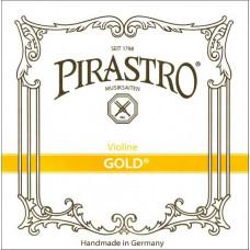 215025 Gold Violin Комплект струн для скрипки (жила), Pirastro