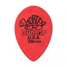 423R.50 Tortex Small Teardrop Медиаторы, 36шт, м/капля, толщина 0.50мм, Dunlop