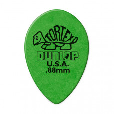 423R.88 Tortex Small Teardrop Медиаторы, 36шт, м/капля, толщина 0.88мм, Dunlop