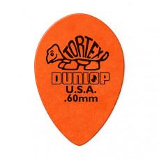 423R.60 Tortex Small Teardrop Медиаторы, 36шт, м/капля, толщина 0.60мм, Dunlop
