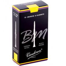 CR182 Black Master Трости для кларнета Bb №2 (10шт), Vandoren