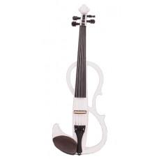 VE-400WH Электроскрипка, белая, Mirra