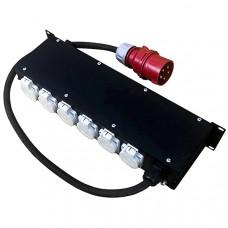 RC407 Дистрибьютор питания, рэковый, EDS