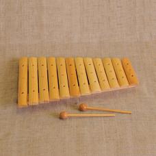 MS-K1-KS-03 Ксилофон диатонический (12 пластин), Мастерская Сереброва