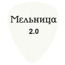 424C1.00-МЕЛЬНИЦА Медиатор с логотипом группы Мельница, толщина 1мм. Dunlop