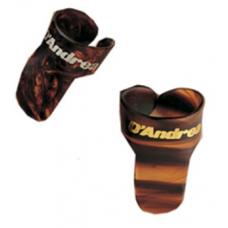 2012AF Коробка медиаторов на палец, 2 размера, 72 штуки, D`Andrea