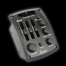 Cadic-1 Звукосниматель с 4-ех полосным эквалайзером, с тюнером, врезной, Belcat