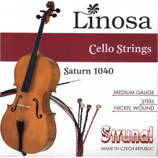 1040-3/4 Saturn Комплект струн для виолончели 3/4, Strunal
