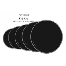"FLT-DH-B-12 Пластик для барабана 12"", черный, Fleet"