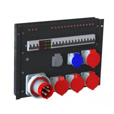R551AV Дистрибьютор питания, рэковый, EDS