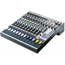 SOUNDCRAFT EFX8 - микш.пульт 8 моно, 2 стерео, 2 Aux, встроенный процессор Lexicon , 32 программы
