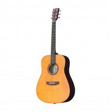 BEAUMONT DG80/NA - акустическая гитара, дредноут, корпус липа, цвет натуральный