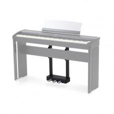 KAWAI F-301HB - педальный блок с тремя педалями для цифрового пианино ES8B, чёрный цвет.