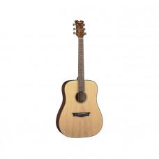 DEAN AX PDY GN PK - комплект акустическая гитара и аксессуары, цвет натуральный