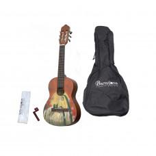 BARCELONA CG10K/COLLINE 1/4 - набор: классическая гитара детская, размер 1/4 плюс аксессуары