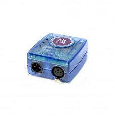 SUNLITE SLESA-U8 - DMX интерфейс для арх. освещения,1 DMXout, 1024 канала, 64К, USB