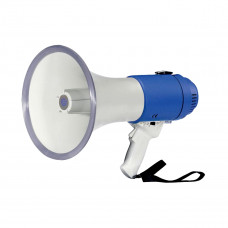 SHOW ER-55S/W - мегафон ручной 25 Вт, сирена+свисток, пластик