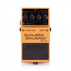 BOSS AC-3 - симулятор звука акус. гитары.