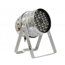 INVOLIGHT LEDPAR184/AL - светодиодный RGBW прожектор PAR64, мультичип: 18 шт. 8 Вт RGBW, DMX-512