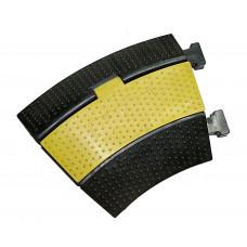 INVOTONE CG2CN - защитный порог для кабеля, 2 канала, угловой 33*, 300х250х50 мм