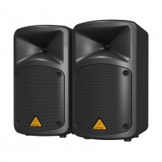 BEHRINGER EPS500MP3 - портат.система звукоусил.,500 Вт,8-кан.микшер-усилит.,MP3-плейер