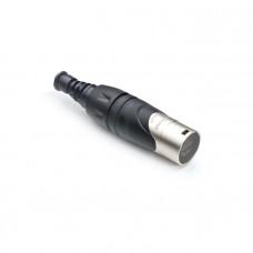 AMPHENOL RJX8M - корпус для кабельного разъема RJ45, серия XLRnet, цвет серебро