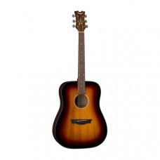 DEAN AX PDY TSB PK - комплект акустическая гитара и аксессуары, цвет табачный санбёрст