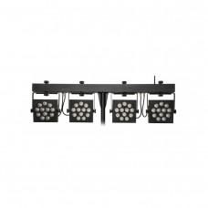 INVOLIGHT MLS HEX48 - светодиодный прожектор RGBWA/UV 12х12 Вт, кейс, ножной и ИК ДУ- пульт
