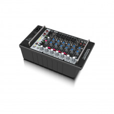 BEHRINGER PMP500MP3 - микшер с усилителем, MP3-плеер, 500Вт 4 Ом, 8 каналов (4 мик./лин., 2 стерео