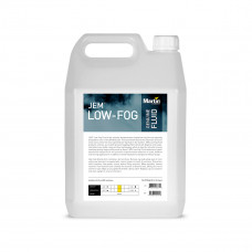 MARTIN JEM Low-Fog 5L - жидкость для генераторов тяжелого дыма 5 л.