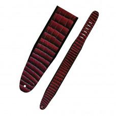 """PERRI'S AP01-1264 - кожаный ремень (2,5"""") (потрескавшаяся кожа,цвет-бордовый)"""