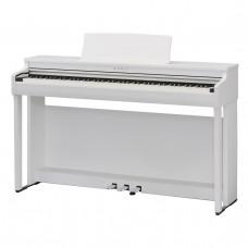KAWAI CA48W - цифр. пианино, деревянные клавиши, 19 тембров, 20 ВТ x 2, белое