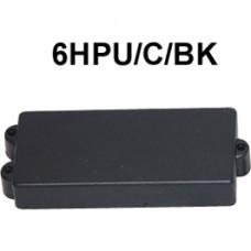 DR. PARTS 6HPU/C/BK - звукосниматель humb для 6-струнной бас гитары, закрытый, чёрн.