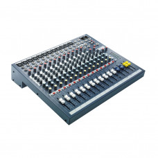 SOUNDCRAFT EPM12 - микшерный пульт, 12 mono + 2 stereo, 2 aux, 60мм фейдер