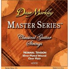 DEAN MARKLEY 2830 Master Series NT - струны для классической гитары, нормальное натяжение