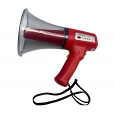 SHOW ER-3PS - мегафон ручной, 10 Вт, сирена, MP3 проигрыватель, SD-Card