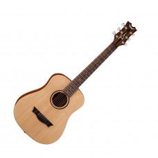 DEAN FLY SPR - акустическая гитара, 3/4, ель, чехол, цвет натуральный матовый