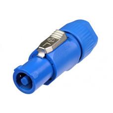 NEUTRIK NAC3FCA - кабельный разъем PowerCon, входной (синий), 20A/250В