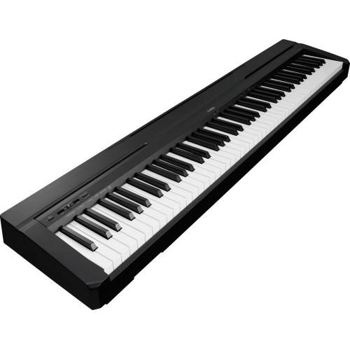 YAMAHA P-45B - цифровое пианино 88кл.с БП (без стула, стойки) цвет - чёрный