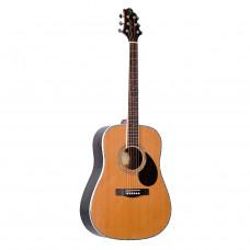 GREG BENNETT D8/N - акустическая гитара, дредноут, массив кедра, цвет натуральный