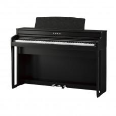 KAWAI CA49B - цифр. пианино, механика GFC, OLED дисплей, 19 тембров, 20 ВТ x 2, цвет черный матовый