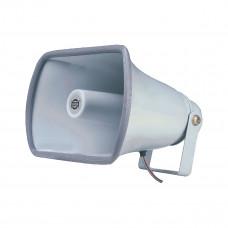 SHOW SC-25P - громкоговоритель рупорный 25Вт, 8Ом, 300 Гц-9 кГц, цвет серый, IP66
