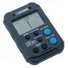 BOSS DB-30 - метроном, темп 30 – 250 ударов в минуту