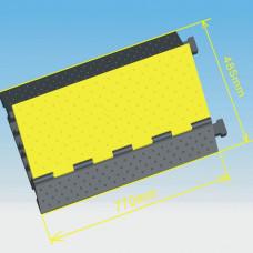 INVOTONE CG5 - защитный порог для кабеля, 5 каналов, 770х485х65 мм