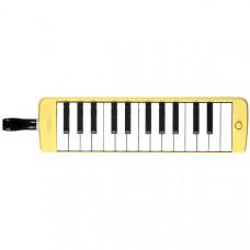 YAMAHA P-25F - пианика духовая 25 клавиш, 2 октавы F2-F4, цвет желтый