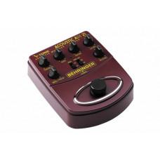 BEHRINGER ADI21 - педаль моделирования акустич. усилит / предусилитель для прямой записи / DI-бокс
