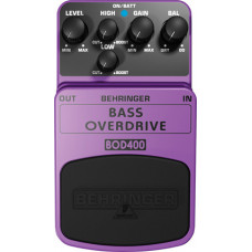 BEHRINGER BOD400 - педаль эффектов (овердрайв) с ламповым звучанием для бас-гитар