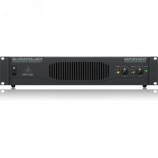 BEHRINGER EP2000 - усилитель мощности, 2х500 Вт/4 Ом,2х350 Вт/8 Ом, мост:1300 Вт/4 Ом, 1000 Вт/8 Ом