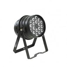 INVOLIGHT LEDPAR184/BK - светодиодный RGBW прожектор, мультичип: 18 шт. 8 Вт (4х2 Вт RGBW), DMX