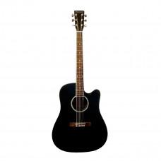 BEAUMONT DG80CE/BK - электроакустическая гитара с вырезом